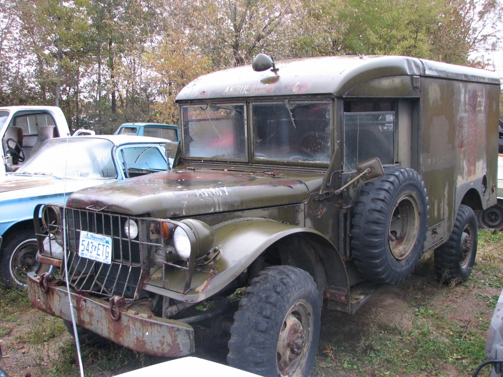 1953 Dodge Army Ambulance
