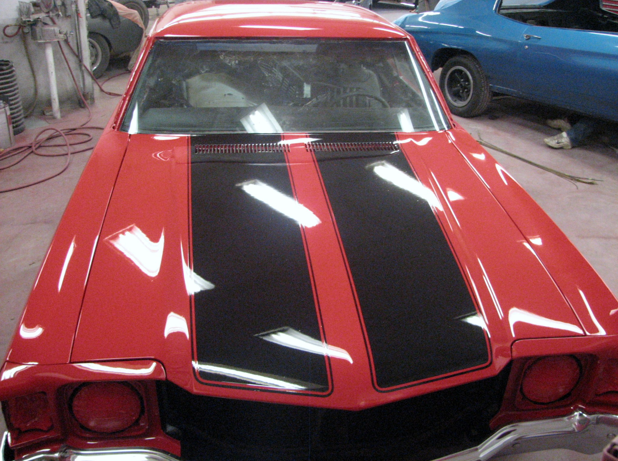 1971 Chevrolet Chevelle In Restoration