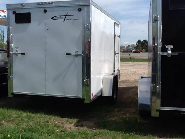 2014 Cross Trailer White 12x6