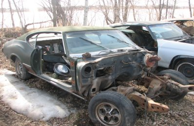 1971 Oldsmobile Cutlass - Project Car