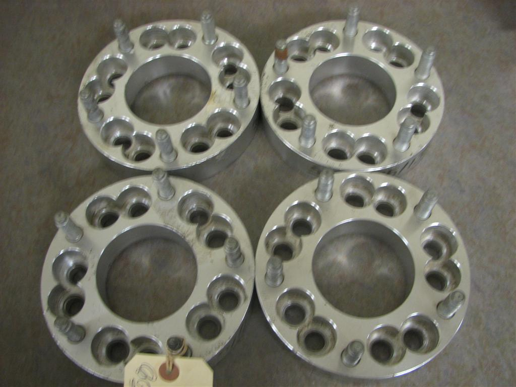 5x4.5/4.75 to 5x5 Aluminum Wheel Adapters/Spacers
